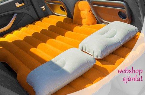 Felfújható matrac speciális autós kialakítással