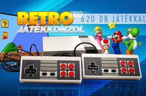 Retro Pro játékkonzol 620 db beépített játékkal