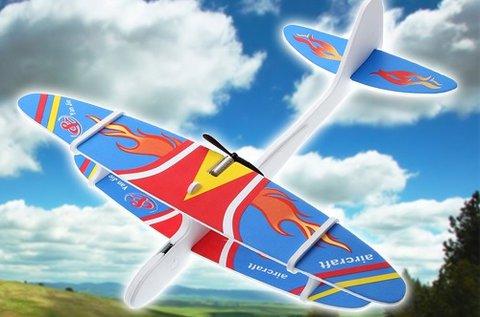 Kicsi elektromos repülőgép modell