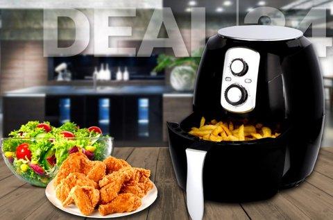Cuisinier Deluxe 3,6 l-es olaj nélküli fritőz