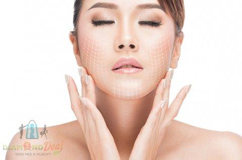 Tű nélküli mezoterápiás kezelés arcmasszírozással