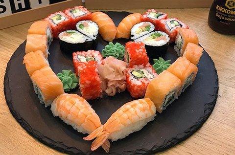 Klasszikus 26 db-os sushi szett a Sushi Masterben