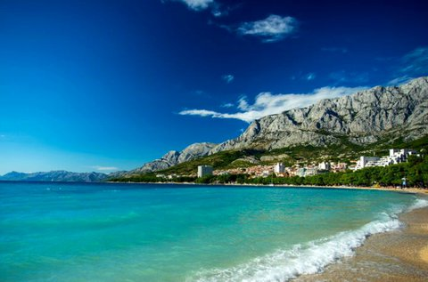 6 napos tengerparti vakáció Makarskában