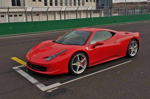 Szágudj Ferrari 458 Italiával a Hungaroringen!