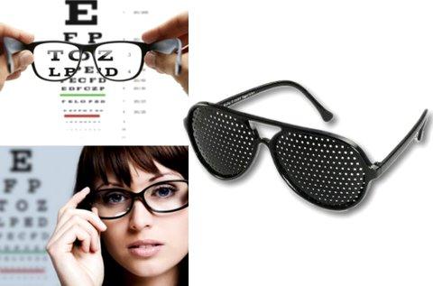 2 db látásjavító raszterszemüveg