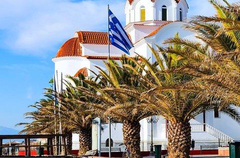 1 hetes májusi üdülés 3 vagy 4 főre Görögországban