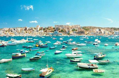 4 napos hosszú hétvége a csodás Máltán repülővel
