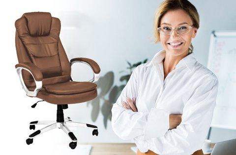 Relax duplán párnázott főnöki forgószék
