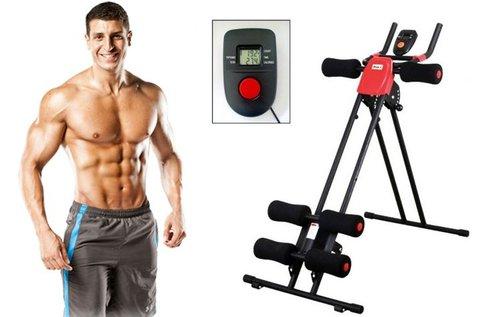 Kar- és hasizom erősítő otthoni edzőgép