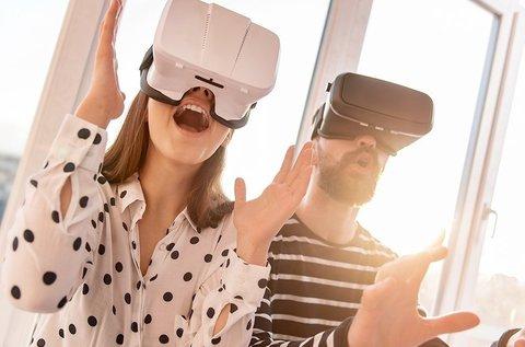 1 órás virtuális valóság élmény 2 főnek