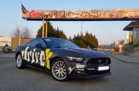 Vezess egy Ford Mustang GT 5.0 autót Mogyoródon!