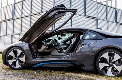 30 perces BMW i8 élményvezetés közúton