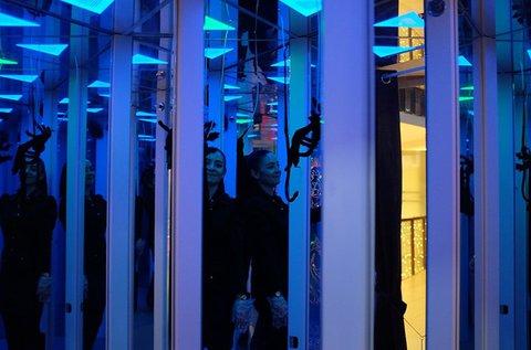 Tükörlabirintus belépő 3 bátorsági fokozattal