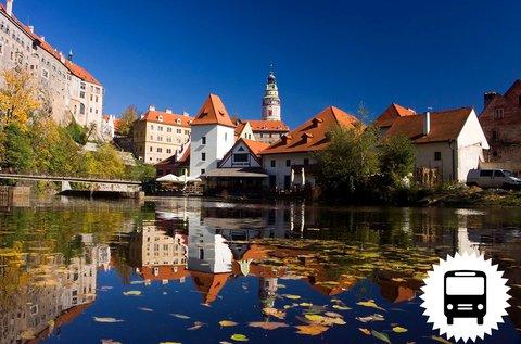 Buszos út Dél-Csehország világörökségi városaiba