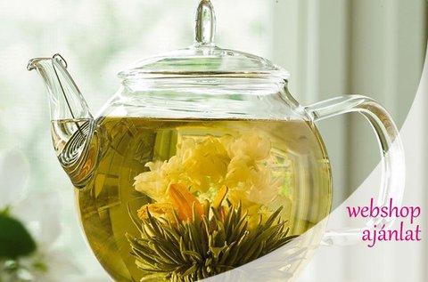 2 vagy 4 db virágzó tea díszcsomagolásban