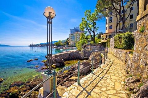 5 napos nyaralás a napsütötte Opatija szívében