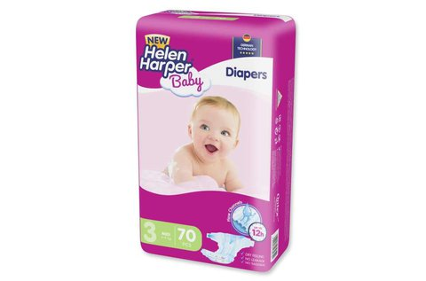 70 db Helen Harper Panama Baby midi pelenka