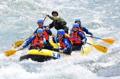 Kaland a Soca-folyón raftinggal vagy kanyoninggal
