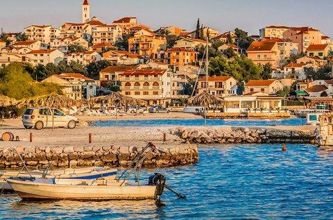 1 hetes vakáció a dalmáciai Seget Vranjicában