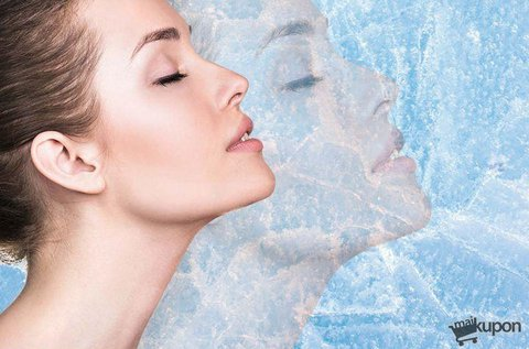 Fájdalommentes arcfiatalítás fagyasztással