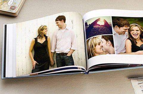 60 oldalas keményborítós fotókönyv készítés