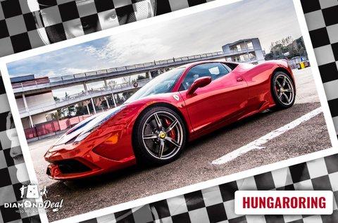 Ferrari 458 Italia vezetés a Hungaroringen