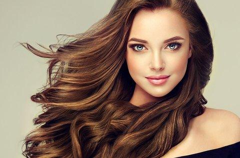 Keratinos hajegyenesítés ápoló hajmosással