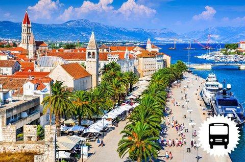 4 napos buszos körutazás Dalmáciában