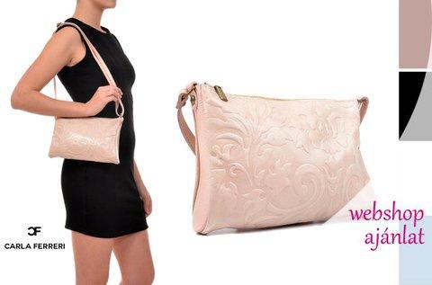Carla Ferreri Blossom táska virágos-indás mintával