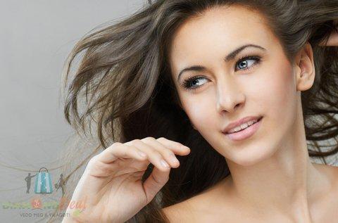 Stílusos frizura hajvágással, keratinos pakolással