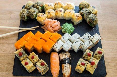 42 db-os nagy sushi kombináció 2-3 fő részére