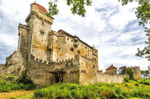 Buszos kirándulás a Liechtensteinek várához