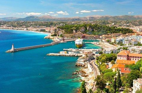 Kalandos utazás Torinótól Nizzáig idegenvezetővel