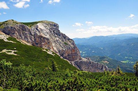 Alpesi kirándulás túrázással a Rax-fennsíkon