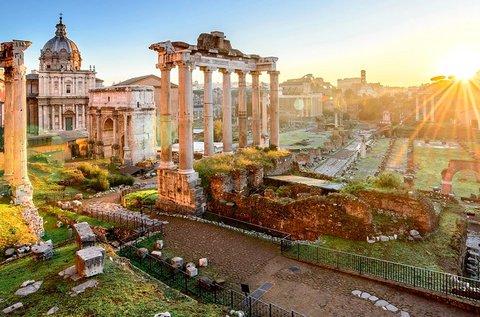 4 napos nyári kiruccanás Rómába repülővel