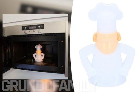 Mikrohullámú sütőbe helyezhető tisztító séf