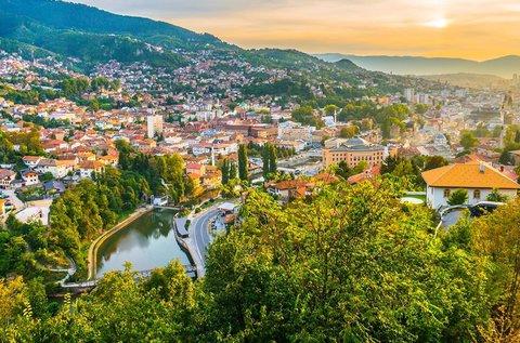 Kora nyári vagy őszi barangolás Szarajevóban